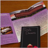 Simply Desserts Brochure