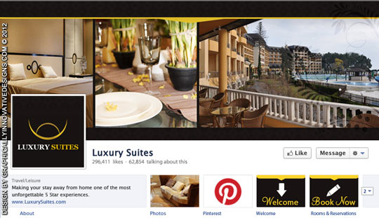 The new rules of facebook timeline covers for Interior design facebook pages