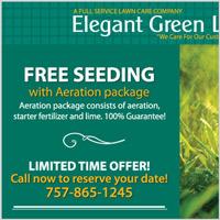 Elegant Green Lawns Postcard 2