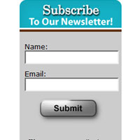 Bend Cookie's Email Newsletter Subscribe Box