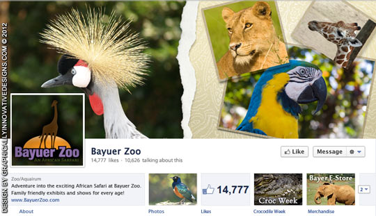 Zoo Cover Image and Profile Picture for Timeline