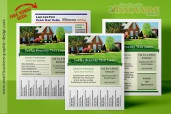Lawn Care and Landscaping Flyers