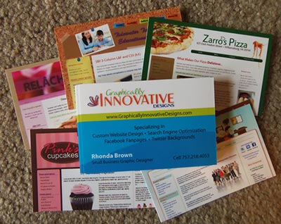 My Moo Business Card Examples