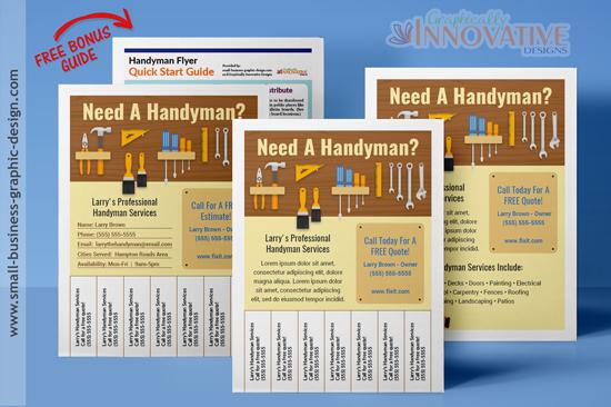 Handyman flyers