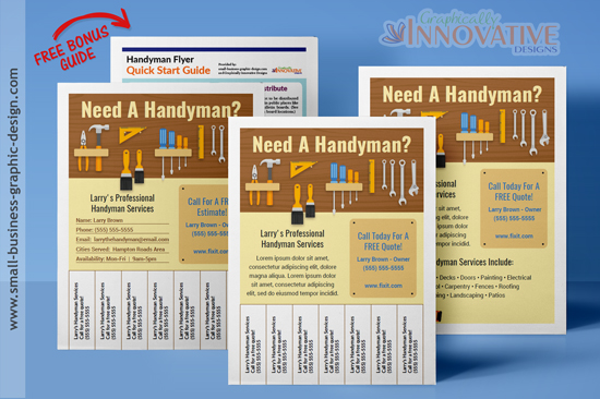 Best handyman flyers for sale Architecture firm for sale