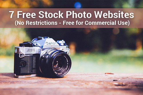 My hand-picked list of free stock photo websites