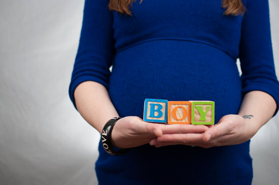 Pregnant with baby boy