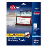 Avery Rounded Business Cards