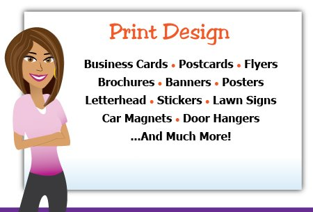 Print Design Services Offered
